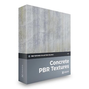 concrete pbr volume 3 3D model