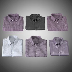 mens shirts folded model