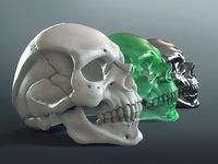 Skull Ring 3D-Print