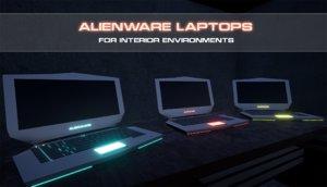 3D laptops computer