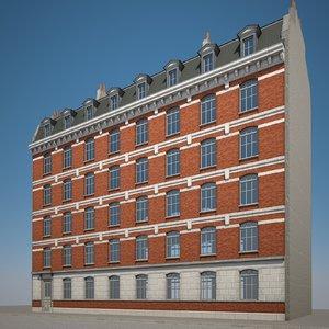 urban building 3D model
