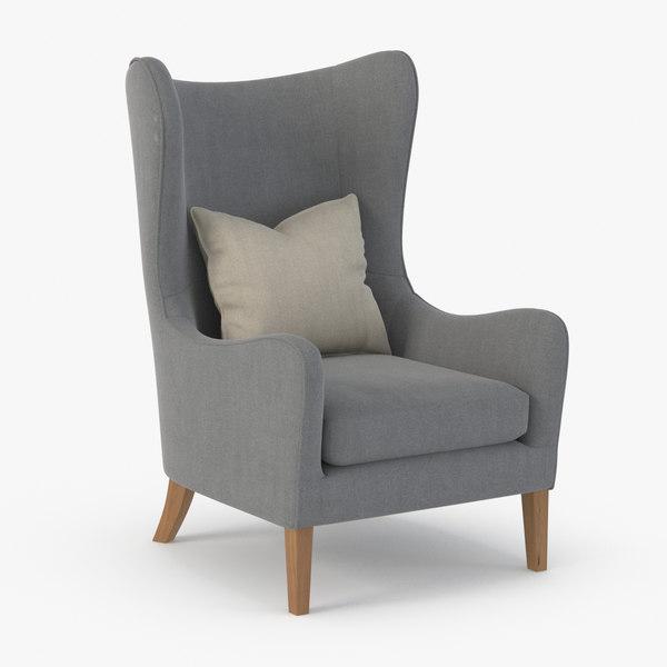 3D realistic sofa model