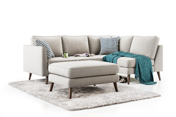 cameron sofa 3D model