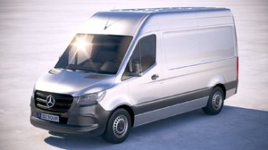 3D mercedes-benz sprinter standard