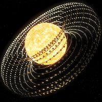 dyson swarm 3D model