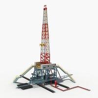 3D land rig