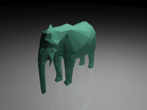 elephant geometric model