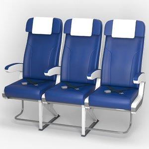 3D airplane chair v3