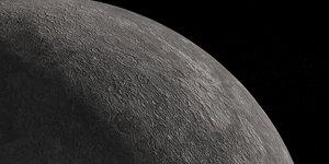 plantet mercury 3D model