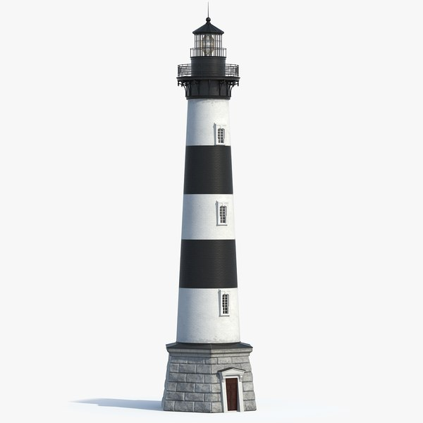 3D lighthouse model