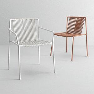 pedrali chairs 3D model