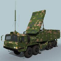 3D ht-233 chinese radar