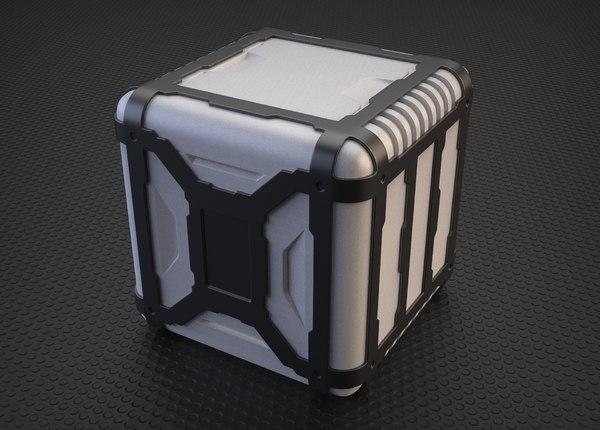 sci-fi props 3D model