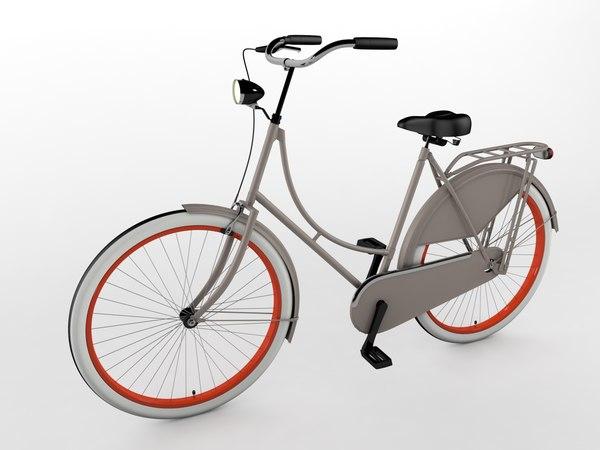 3D grandma bike omafiets