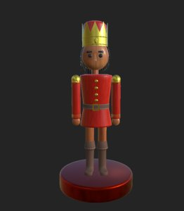 nutcracker soldier 3D model
