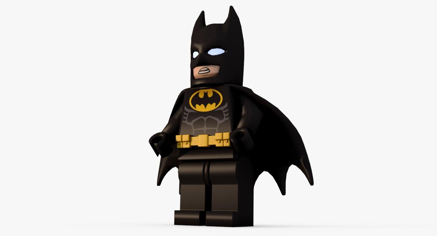 3D model lego bat
