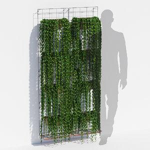 painel jardim 3D