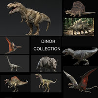 Dinosaur Collection (Rigged)