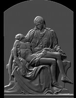 pieta michelangelo rilievo rilief