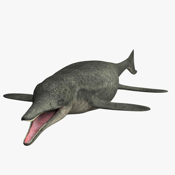 3D dinosaurs mammal dino model