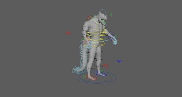 venom carector 3D model