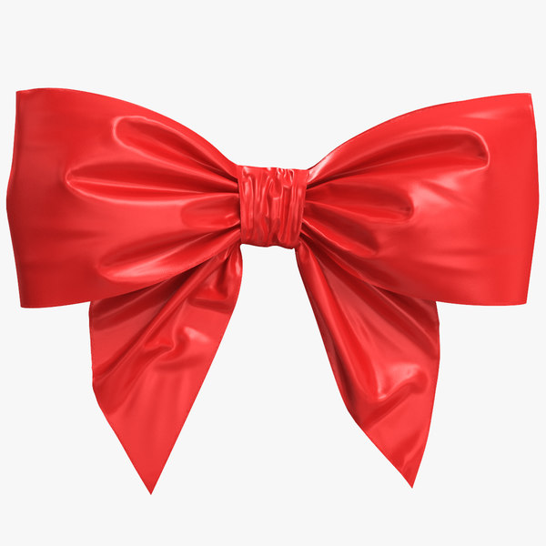 red bow 3D