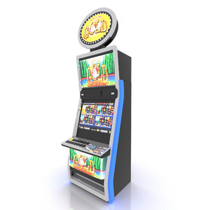 video slot machine 3D model