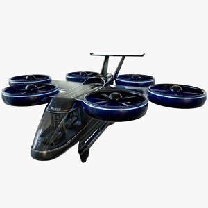 bell nexus flying taxi 3D model