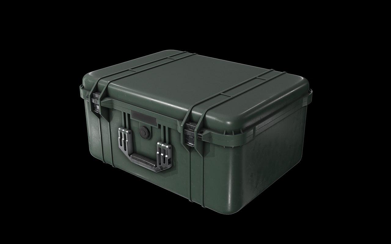 military cases model