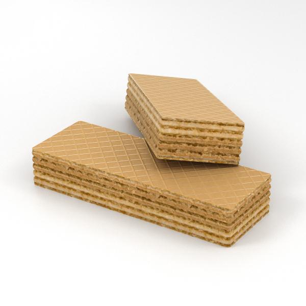 3D wafer model