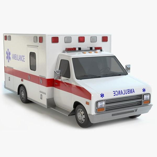 ambulance pbr model