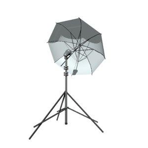 3D studio light stand