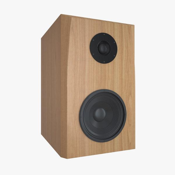 3D wood speaker