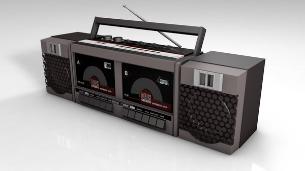 radio double deck cassette model