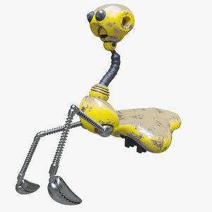 droid jimmy 3D model