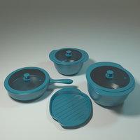 ceramic pan model