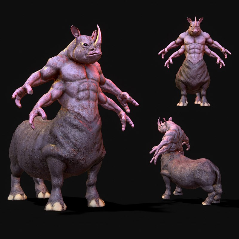 warrior rhino model