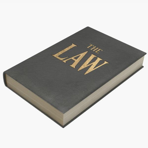 law book 1 3D