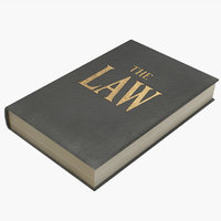 law book 1 3D