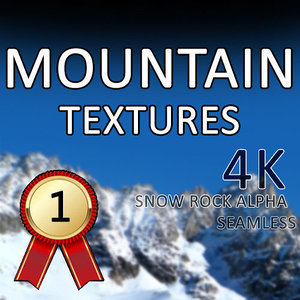 Mountains Snow Rock Textures