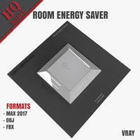 3D room energy saver