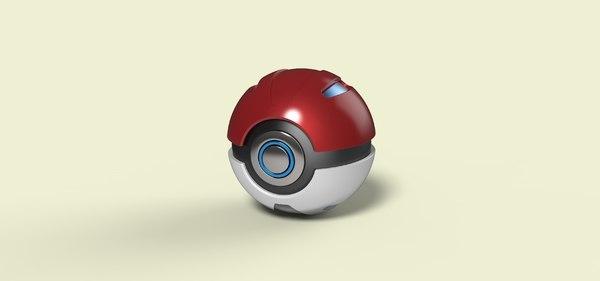 ball pokeball 3D