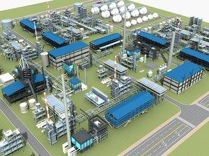 refinery 02 3D