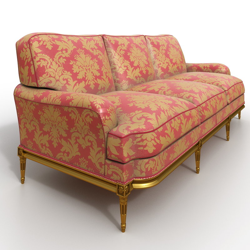 sofa balcaen sophie 3D model
