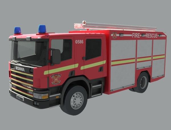 rescue 3D model