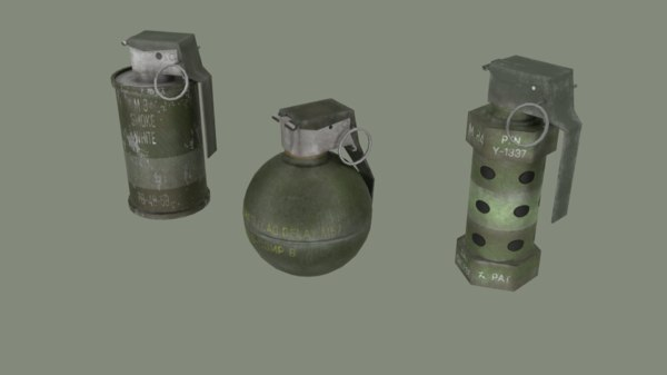 grenade 3D model