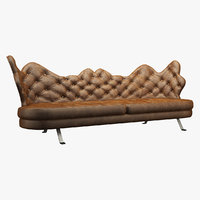 sofa realistic photorealistic 3D model