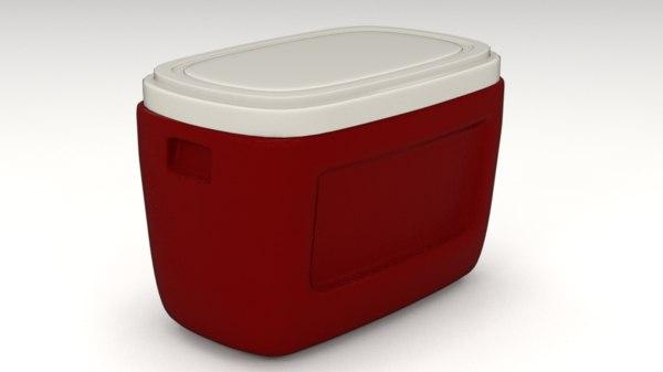 3D cooler model