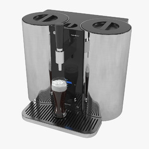 3D model lg craft beer-brewing machine