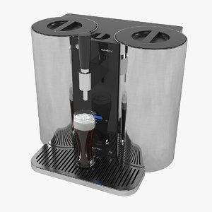 3D model lg craft beer-brewing machine